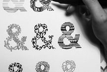 // typography / typography related works. / by Mikhael Wijaya