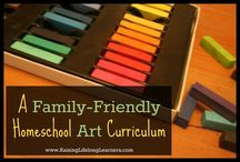 Homeschooling | Art / My favorite crafts, activities, tips, tricks, ideas, and lessons to help you teach your kids art.