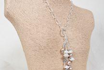 EarthWhorls Pendants / Gemstone & Sterling Silver Pendants