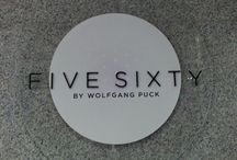 Five Sixty by Wolfgang Puck / Award winning, Asian Fusion, fine dining restaurant.