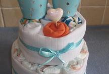 nappy cake idea