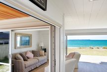 Lockwood all white interior beach home / Stunning all white modern Lockwood home at the beach.  Great family holiday home, light, bright and airy.