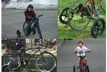 手軽に出掛ける自転車