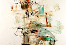 Abstract Paintings / Abstract paintings by Ivan Guaderrama
