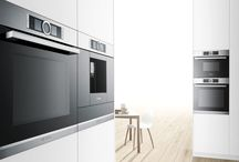 Built-in Kitchen Appliances / There is a vast choice of built in appliances, all of which are there to make our lives easier. You can choose from top of the range to the basic entry depending on your requirements. This board will be looking at Bosch, Neff and Siemens, these are the three brands we use for our client installations.