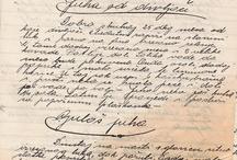 Rukopisy, písmo