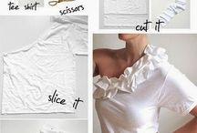Ubrania - zdobienie, modyfikacje, DIY