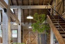 Barn House Interior
