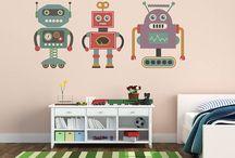 Robot themed Children's Room