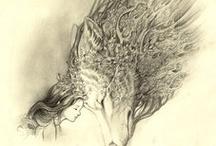 amor por los lobos / desde que he leído parte de el libro mujeres que corren con los lobos mi visión por los lobos ha cambiado, y ahora son uno de los animales que mas me gustan.