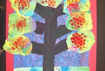 1st Grade Art project Ideas / by Heather Persch