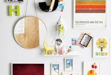 Inspiration: Gallery Walls / Inspiration from Gallery Walls for scrapbooking and crafts