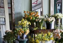 Flower shop decor