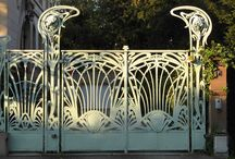 Art Deco & Nouveau / Art Deco & Nouveau Interiors and Exteriors