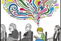 The joy of reading .