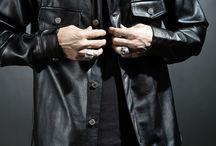 ByTheR- Modern Classic Shiny Gloss Black Men's Fashion / http://en.byther.kr/