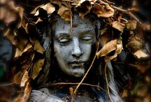 • death + abandonment • / • funerary art + abandoned beauty •