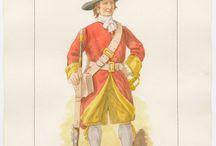 Regt of Foot / 1600-1700s