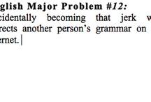 English major / by Jessica Nolan