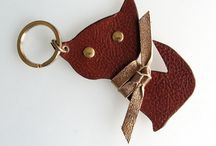 leather keychain & accessories