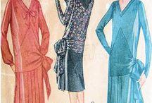 fashion 1920 mood board