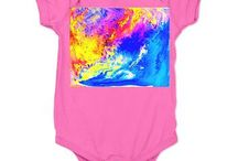 Baby's clothing & Gifts / Here are Baby's clothing & Gifts decorated with my art images