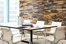 Realstone Systems' Reclaimed Boatwood Panels / Realstone Systems' Reclaimed Boatwood Panels