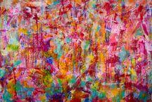 Nestor Toro Abstract Artist- VangoArt.co collection.