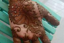 Henna versieringen