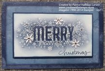 Stampin' Up! cards by Patrice / Lovely cards