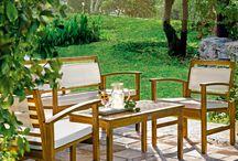 Terraza y Jardín / Encuentra todo lo que necesitas para disfrutar al 100% del aire libre. ¡Aprovecha el buen tiempo primaveral! http://bit.ly/1GP3wB1