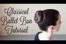 Ballet hair