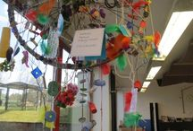 Dream catchers and mobiles