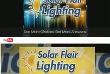 Welcome 2015 / Follow us to find out what's new at SolarFlairLighting.com, our blog, YouTube Channel, Twitter... Along with new products and sales, we regularly post articles and videos to help consumer select the best solar-powered lights and garden products,  how to best operate/maintain your products including getting the most of solar products during various seasons. We believe the best customers are well-educated consumers!