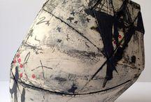 Ceramics - painterly slip
