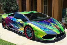 Vehicle paint jobs or wraps