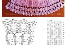 faldas Patrones De Ganchillo