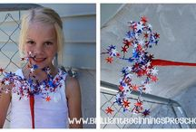 Indepence Day Preschool / Activities for the 4th of July!