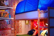 Habitaciones infantiles / Ideas cama kura ikea