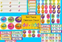 Bird classroom theme