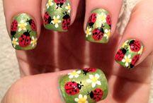 summer nail art ideas nature