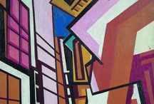 [1914 - 1915] Vorticism / A unique blend of Cubism and Futurism, Vorticism was an important British avant-garde art movement of the early 20th century, although it lasted officially for no more than two years. The movement's central figure was the English painter, writer and polemicist Percy Wyndham Lewis (1882-1957), while the name - referring to the emotional vortex which was considered to be the necessary source of artistic creation - was coined by the American poet Ezra Pound.