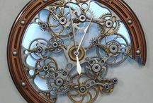 TIme is on My Side / clocks, altered clocks