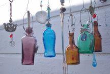 Adornos con botellas