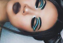 UV make up and costume.