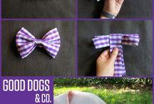 галстук -бабочка для собаки