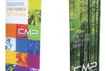 Totem pubblicitari multimaterici / Strumenti pubblicitari materiali vari diversi dal cartone