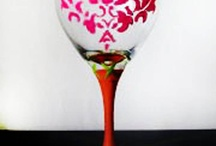 wine glass design / by Mary Grace Sellars