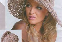 Crochet chapeau