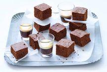 Brownies en chocolade plaatkoeken